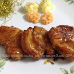 Solomillo de cerdo a la miel