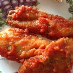 Palometa en salsa de tomate