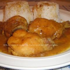 Pollo al curry a nuestro estilo