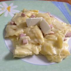 Raviolis con queso fresco