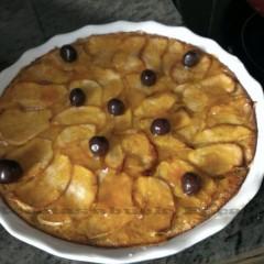 Tarta de manzana ofrecida por Marita Fernández