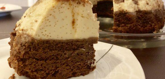 Brownie-Flan en Thermomix TM5